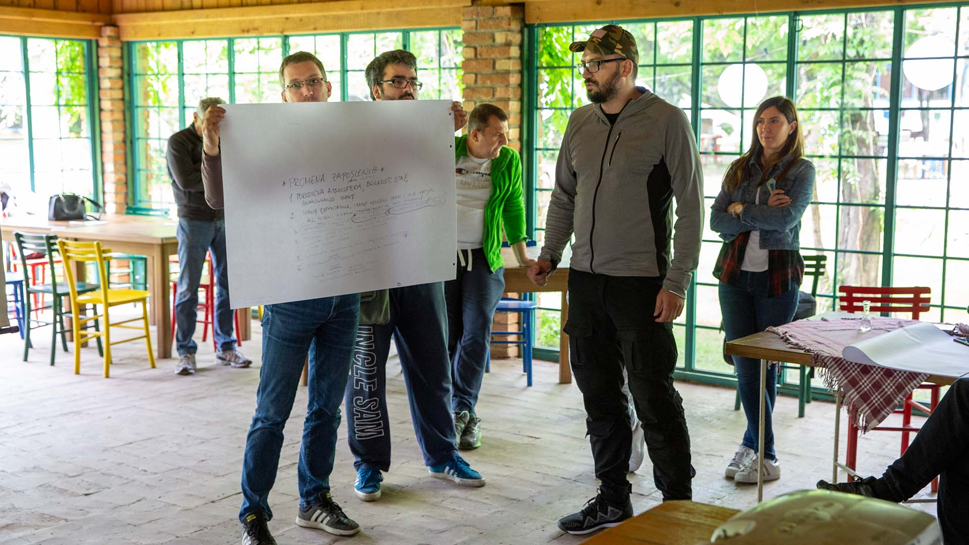 OSA Team building 2019 - učionica